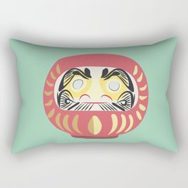 Daruma Doll Rectangular Pillow