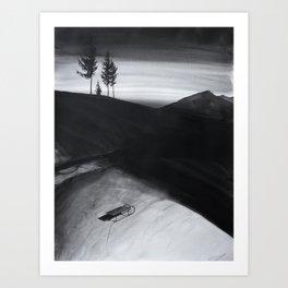 Hiems Art Print