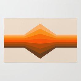 Golden Corner Rug