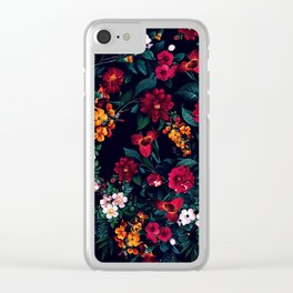 The Midnight Garden Clear iPhone Case