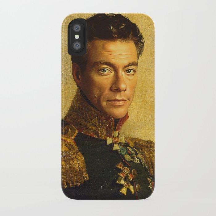 Jean Claude Van Damme - replaceface iPhone Case
