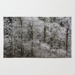 Snow Dusted Trees, No. 2 Rug