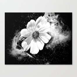 Flower Of The Universe Canvas Print