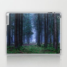 Green Magic Forest - Landscape Nature Photography Laptop & iPad Skin