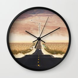 Serine Road Wall Clock