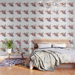 Blue octopus Wallpaper