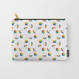 rainbow umbrella Carry-All Pouch