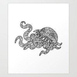 Ultros Art Print