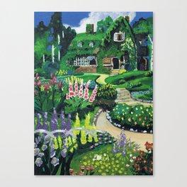 Kiki's Garden Canvas Print