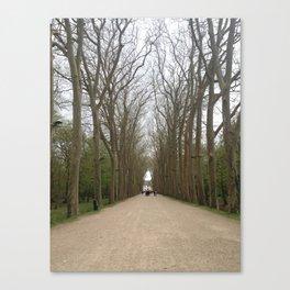Entrance to Chateau Chenonceau Canvas Print