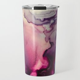Mission Fusion - Mixed Media Painting Travel Mug