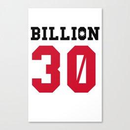 30Billion - Sport Edition 08 Canvas Print