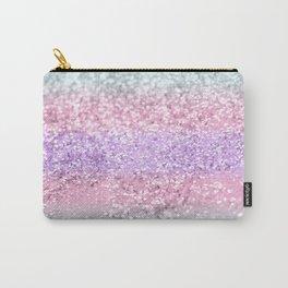 Unicorn Girls Glitter #8 #shiny #pastel #decor #art #society6 Carry-All Pouch
