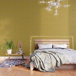 Ethnic pattern in yellow Wallpaper