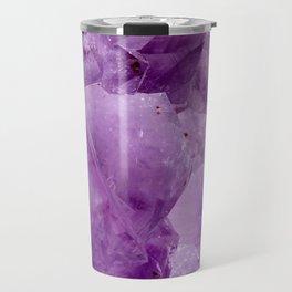 Violet Kryptonite Crystals Travel Mug
