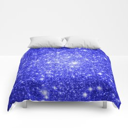 Royal Blue GAlAXY Stars Comforters