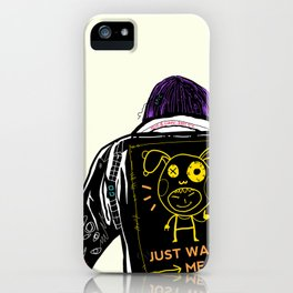 Just watch me iPhone Case