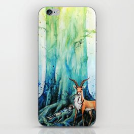 """""""At the tree's feet"""" iPhone Skin"""