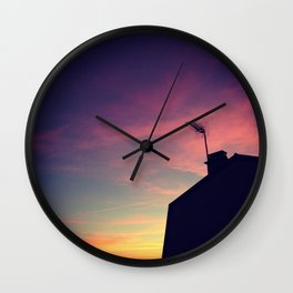SHADOWGRAPH Wall Clock