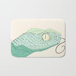 Green Snake Bath Mat