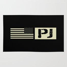 Pararescue (PJ) Black Flag Rug