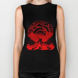 Volcano - Red Biker Tank