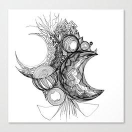 Crescents Canvas Print
