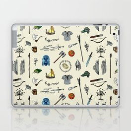 Lord of the pattern Laptop & iPad Skin