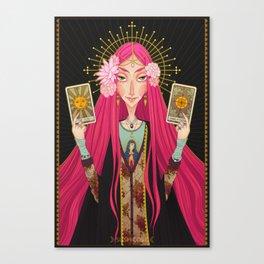 ☽ Oracle ☾ Canvas Print