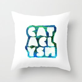Cataclysm Multi Coloured Geometry Throw Pillow