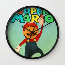 Super Mario 64 Wall Clock