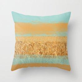 Harvest Landscape Throw Pillow