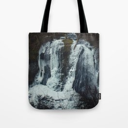 Upper McCord Creek Falls Tote Bag