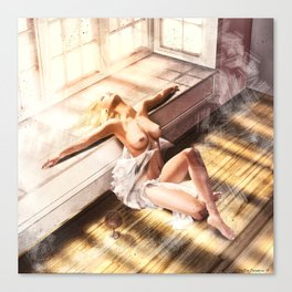 Divine - Submission Canvas Print