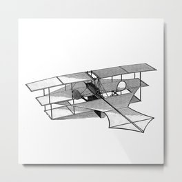 Aeroplane Metal Print