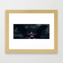 (S)aint Framed Art Print