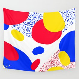Primary Dots Wall Tapestry