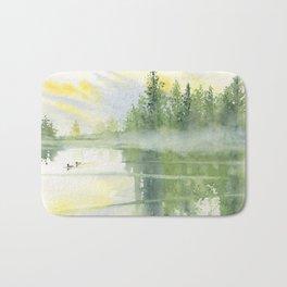Foggy Morning Bath Mat