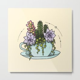 Tea Succs Metal Print