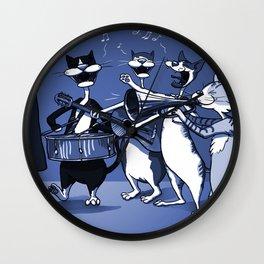 Breakfast serenade Wall Clock