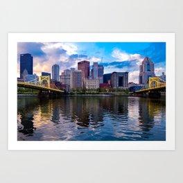 Beautiful Pittsburgh Art Print