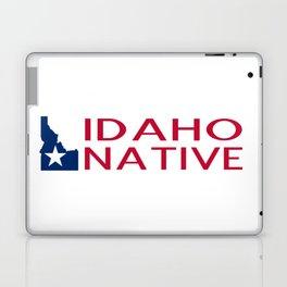 Idaho Native with Idaho Shape and Star Laptop & iPad Skin