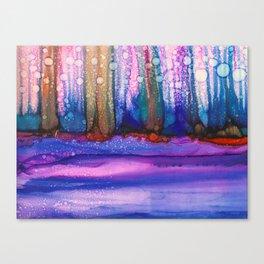 Bubble Forest Canvas Print