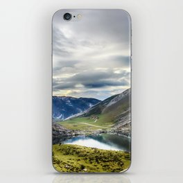 Enol, the Lakes of Covadonga iPhone Skin