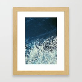w a t e r is thicker than b l o o d Framed Art Print