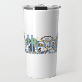 Wellesley College by Stephanie Hessler '84 Travel Mug