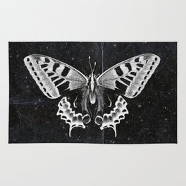 Butterfly in the stars Rug