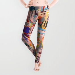 Shamanic Painting 02 Leggings