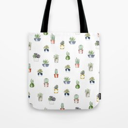 Cute cactus pattern Tote Bag