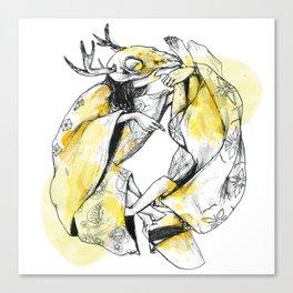 Taouroboros Canvas Print